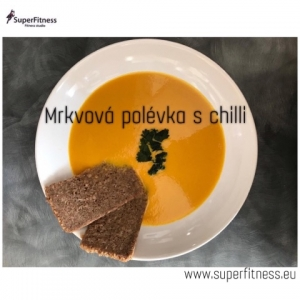 Mrkvová polévka s chilli