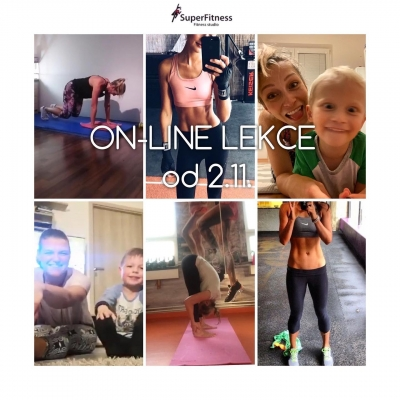 ON-LINE LEKCE SUPERFITNESS